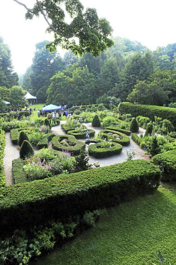 The gardens at the Bellamy-Ferriday House & Gardens in Bethlehem welcome visitors for a picnic on Saturday, Aug. 19, and a wreath workshop and tours on Sunday, Aug. 20. Photo: Photos Courtesy Of Connecticut Landmarks