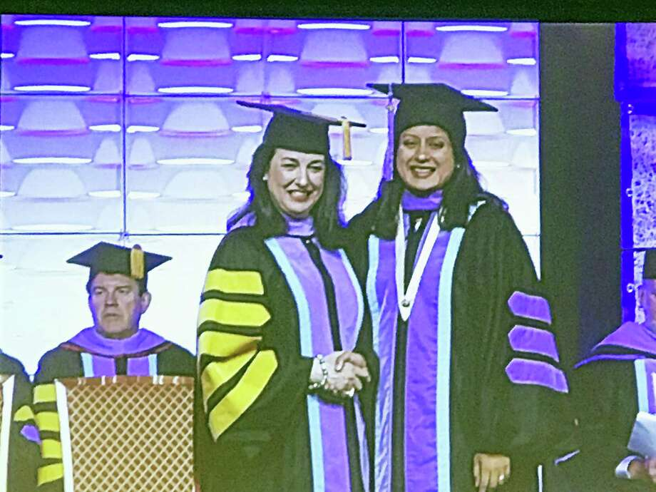 Contributed photoBrooker Dental in Torrington and The Academy of General Dentistry (AGD) recently announced that Dr. Archana Karanki, D.M.D. of  Unionville, received the prestigious Fellowship Award during the AGD's Convocation ceremony. Photo: Digital First Media