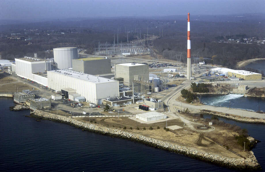 The Millstone Nuclear Power Station in Waterford, Conn. Owners of the facility said they still want more than a study of the facility's future economic viability to ensure the plant remains open and continues providing more than half of Connecticut's electricity. They contend state lawmakers, who have been meeting behind closed doors during the summer of 2017 to hammer out a budget deal, must take prompt action. Photo: AP Photo — Steve Miller, File  / Copyright 2017 The Associated Press. All rights reserved.