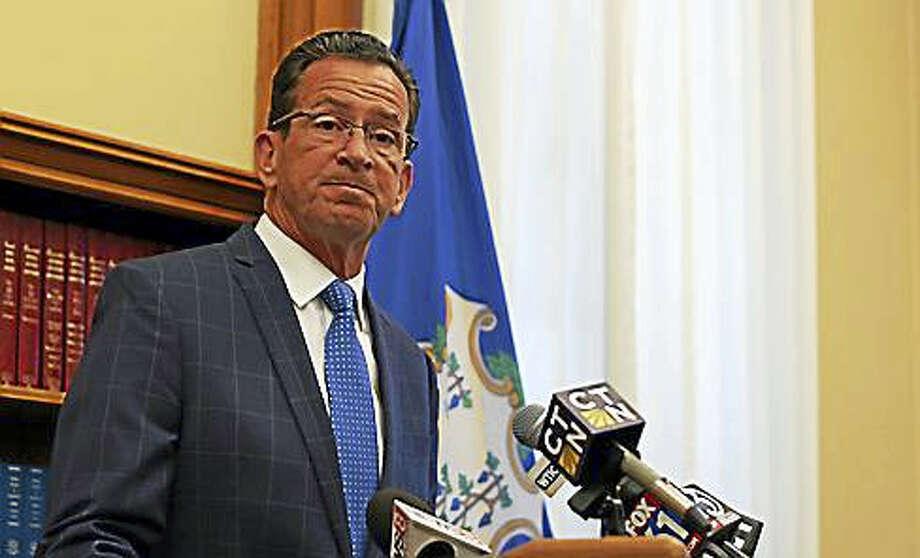Gov. Malloy Photo: Courtesy Of CT News Junkie