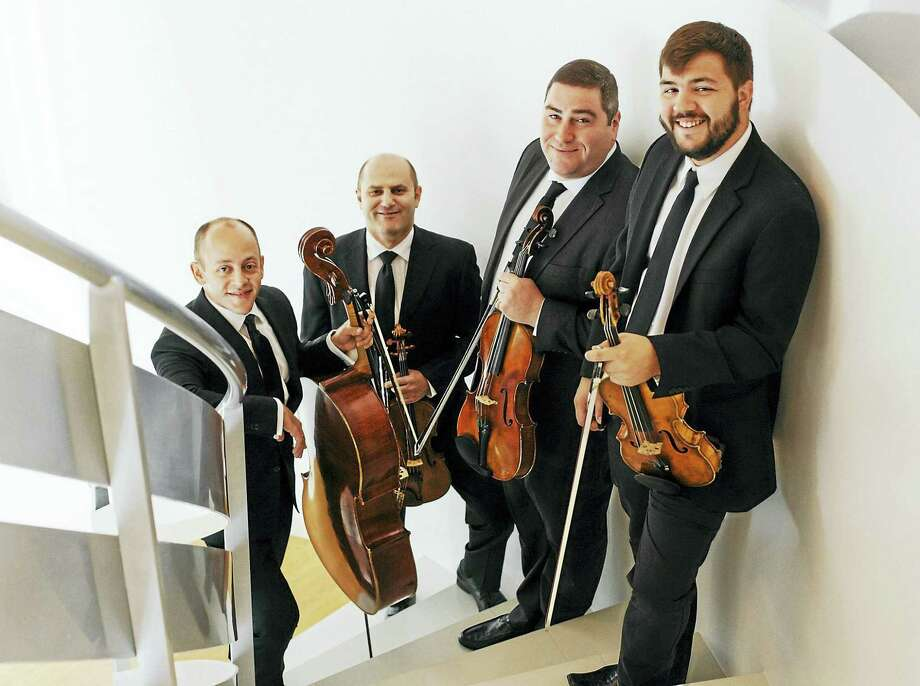 The Amernet String Quartet with guest artist Vivek Kamath, viola, offers an all-Beethoven program on Sunday afternoon. Photo: Contributed Photo