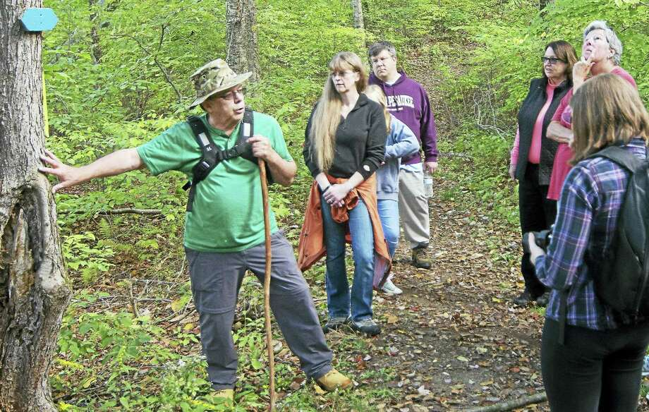 On Saturday, September 9th the public is invited to celebrate the change of seasons with an informative hike through the beautiful and historic Flanders' Van Vleck Sanctuary in Woodbury.   Master Naturalist Edward Boisits, Ph.D. will be leading the leisurely hike pointing out how the natural world prepares for winter. Enjoy fresh air, camaraderie, and exercise in a lovely Flanders environment.  This walk is suitable for all ages and hiking levels.  We suggest bringing your camera along to capture some of your late summer/early autumn observations! The group will meet in the Studio Parking Lot at the intersection of Flanders and Church Hill Roads at 9:30 that morning. There is no charge for the walk. Those interested are asked to register online at www.flandersnaturecenter.org or call 203-263-3711, ext. 10, for more information. Photo: Digital First Media