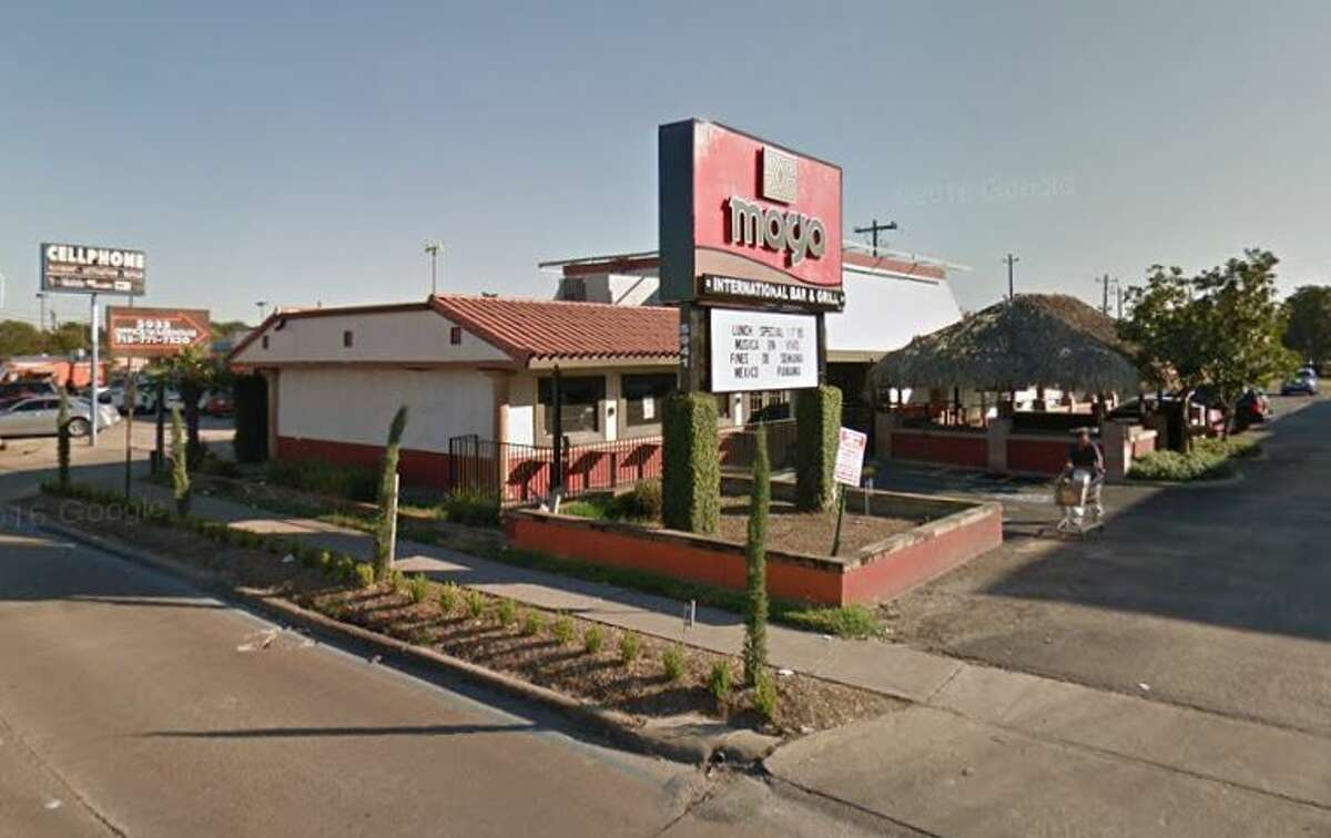 Maya International Bar and Grill 5941 Bellaire Blvd., Houston, TX 77081 Demerits: 51 Inspection Highlights:Food service / food processing establishment not in compliance with Article II, Food Ordinance (sewage back up)