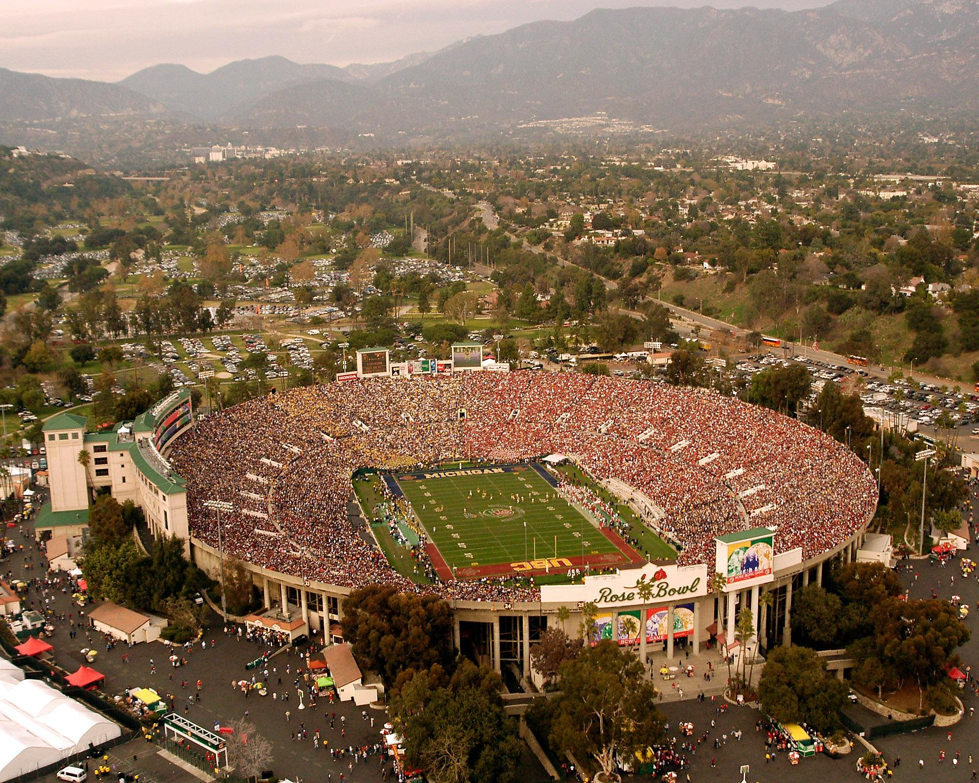 Rose Bowl field has its first name in 95 years - SFGate