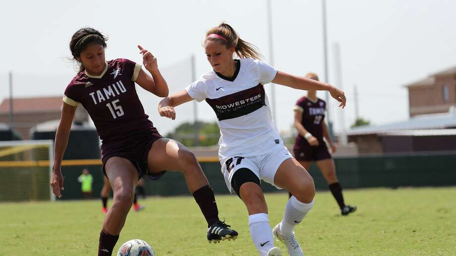 Araceli Martinez had two of the Dustdevils' six total shots as TAMIU lost 2-0 at Lubbock Christian Thursday afternoon. Photo: Courtesy Of Midwestern State Athletics, File
