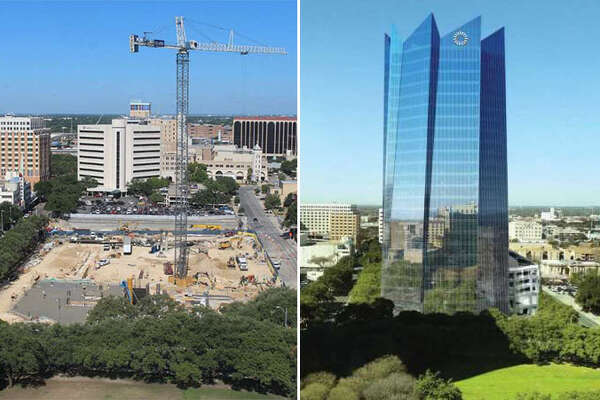The new Frost Tower is expected to change San Antonio's downtown skyline.