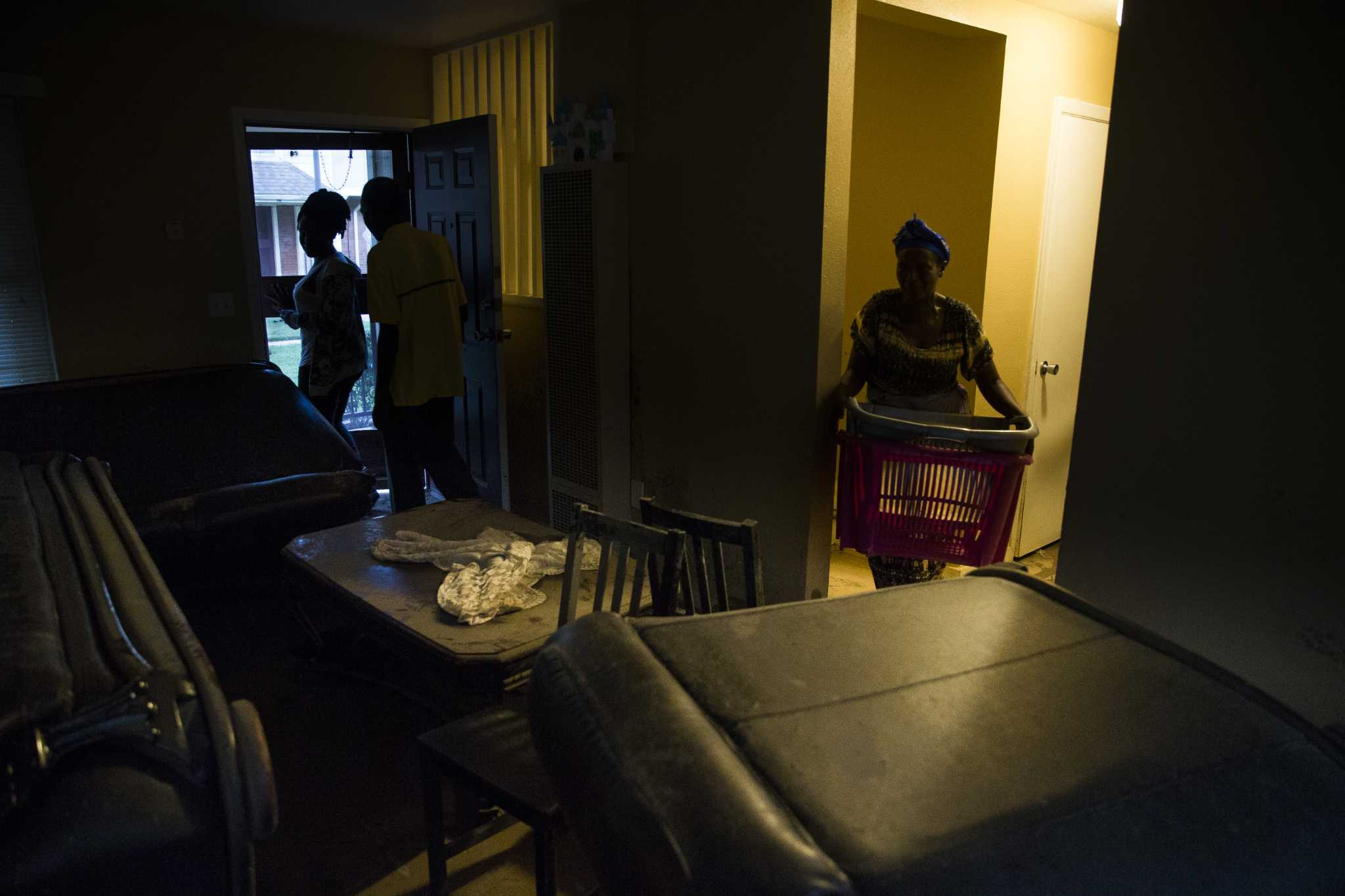 About 70 percent of Houstonians flooded in public housing units paid September rent