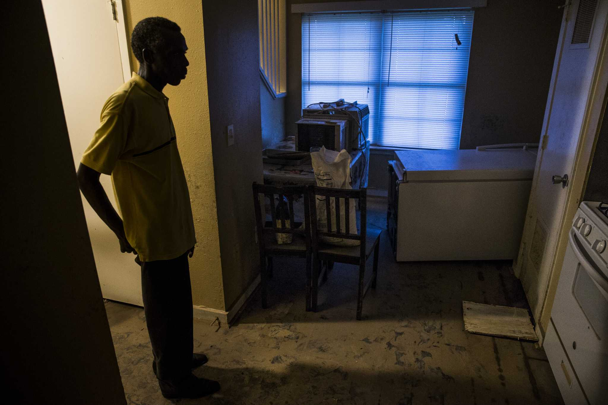 Housing authority charges tenants rent for flooded units