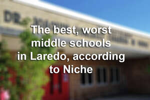 Click through this gallery to see the top middle schools in Laredo, according to Niche.