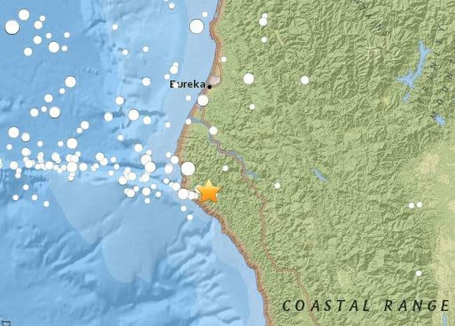 Residents in Humboldt County reported light shaking in the area after a 3.0 magnitude earthquake struck the region. Photo: USGS