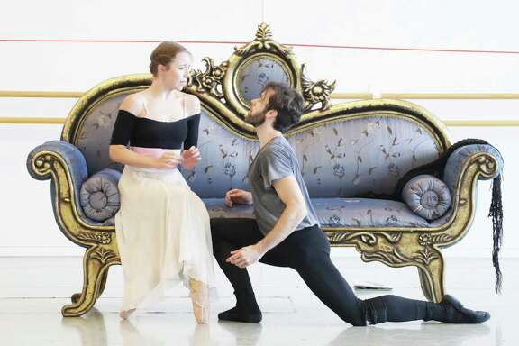 "Houston Ballet principals Jessica Collado and Connor Walsh star in ""Mayerling."""