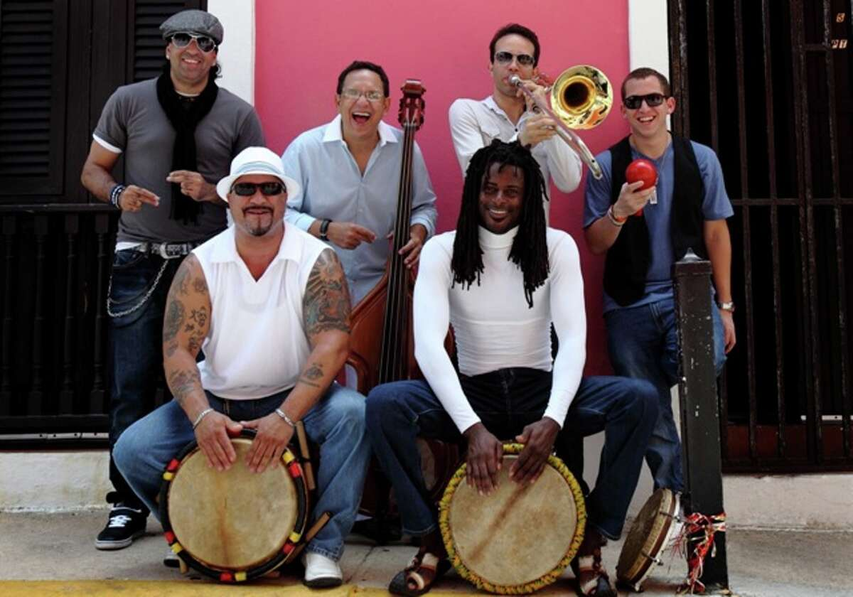 Plena Libre, a salsa and plena group from Puerto Rico.