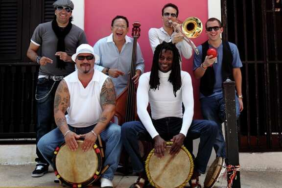 Plena Libre, a salsa and plena group from Puerto Rico.