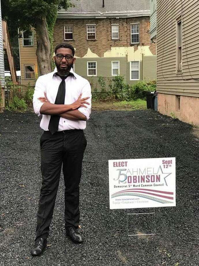 Jahmel Robinson wins Albany's 5th Ward council seat with 100 absentee ballot votes. (Courtesy photo) ORG XMIT: hRm8LxPwun1cgrBiLi3R Photo: Courtesy Photo
