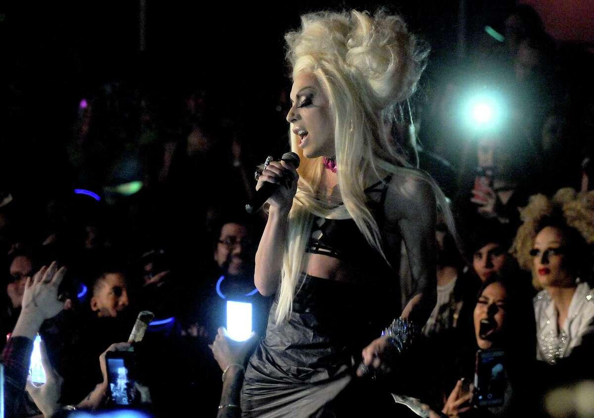 RuPaul's Drag Race star Alaska performs at South Beach Saturday Feb. 18, 2017.(Dave Rossman photo)