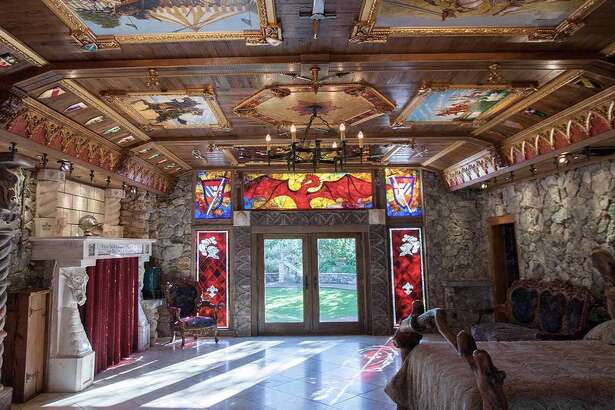 Austin's Camelot House is opening their doors for the first time to give tours of the mid evil-themed 5,000-square-foot home in order to raise money for Hurricane Harvey relief in Houston.