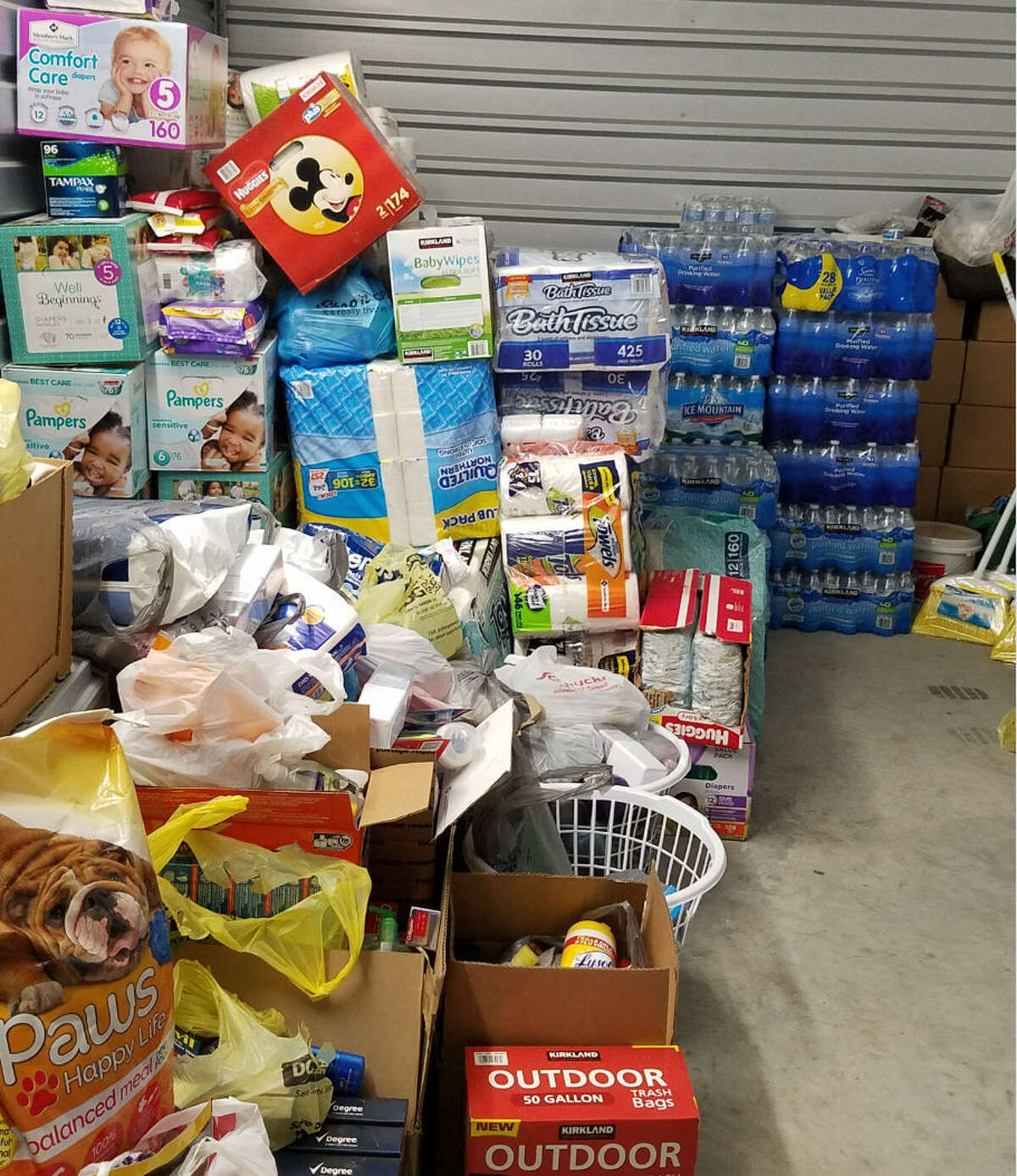 Century 21 The Linda Frierdich Real Estate Group of Columbia, Ill., collected donations for Hurricane Harvey victims and donated them to the Katy Lions Club for distribution.