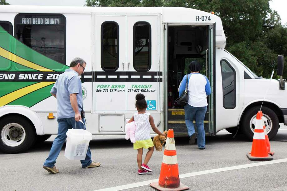 In an effort to assist residents affected by Hurricane Harvey, theFort Bend County Commissioners Court on Sept. 12 approved waiving Fort Bend County Transit fares thru Friday, Sept. 29. All services will be free of charge, including Commuter, Demand Response, and Richmond-Rosenberg Point Deviation routes. Photo: Fort Bend County