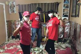 University of Houston students have been doing multiple relief efforts after Harvey's aftermath, including volunteering at shelters, collecting donations and gutting out people's homes.