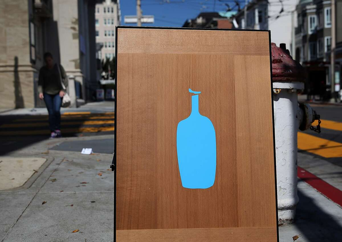"""Blue Bottle, 66 Mint St. But some of the most unpleasant moments aren't from the outside. """"Sometimes people will try to jump in and 'help us' deal with something, and usually that doesn't go over well. We handle things in a pretty specific way so that nobody gets hurt. There was one time that somebody was grabbing the tip jar - they didn't manage to grab it - but they wouldn't leave after, and just as our security guard was headed to shoo them out, some customer just pushed them really hard into the retail counter. Just unnecessarily hard,"""" Hoffman said."""