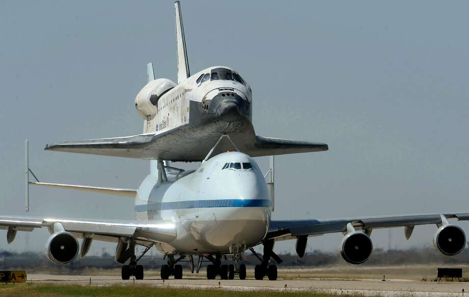 Boeing's workhorse 747 airplanes carried space shuttles as well as human passengers. Photo: Stephen Spillman, Stephen Spillman / Amarillo Globe-News