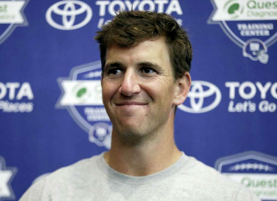 New York Giants quarterback Eli Manning. Photo: Julio Cortez — The Associated Press  / Copyright 2017 The Associated Press. All rights reserved.