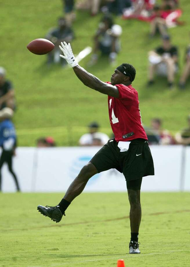 Atlanta Falcons wide receiver Julio Jones. Photo: John Bazemore — The Associated Press  / Copyright 2017 The Associated Press. All rights reserved.