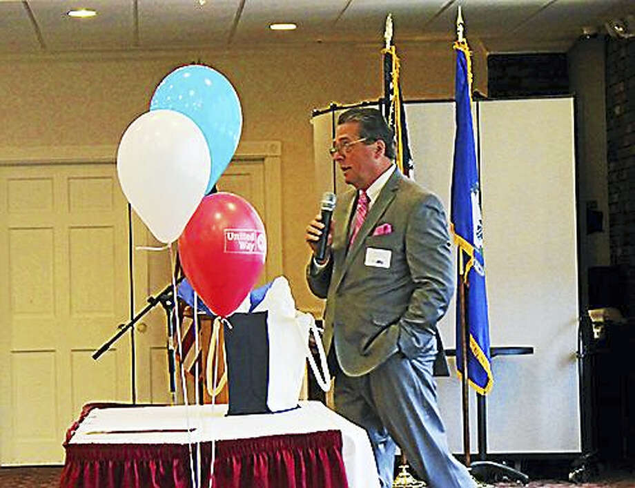 Kevin Reich is shown at last year's Middlesex United Way Campaign Awards Breakfast in April. Photo: Courtesy Middlesex United Way