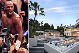 Champion boxer Floyd Mayweather recently plunked down somewhere between $26 million and $29 million for a recently renovated French modern–style estate in one of the most coveted pockets of Beverly Hills, Calif.