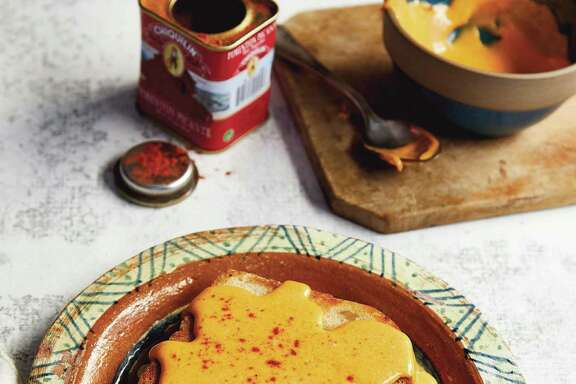 "San Antonio Chile con Queso from ""Queso! Regional Recipes for the World's Favorite Chile-Cheese Dip"" by Lisa Fain."