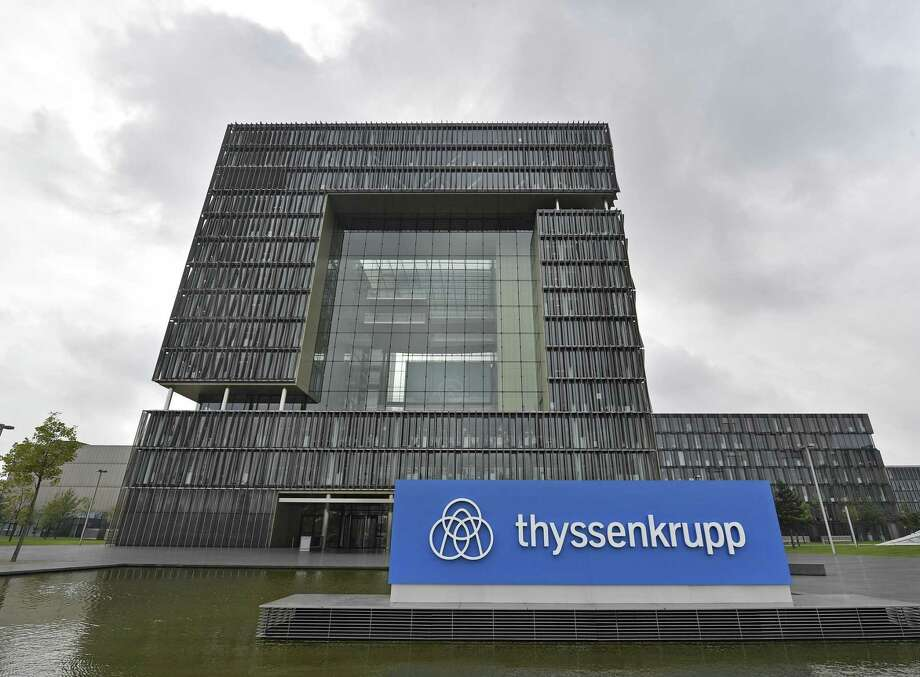 The headquarters of German steel giant Thyssenkrupp is pictured, Wednesday, Sept. 20, 2017 in Essen, Germany. The company announced a planned 50-50 joint venture with Tata Steel of India. Photo: Martin Meissner /Associated Press / Copyright 2017 The Associated Press. All rights reserved.