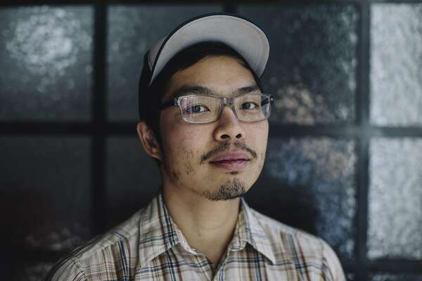 Anthony Myint, co-founder of The Perennial restaurant, stands for a portrait in San Francisco, Calif. on Thursday, Dec. 24, 2015.