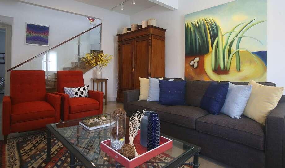 The Living Room San Antonio A Look Inside Lavaca's Architect Enclave In San Antonio  San .