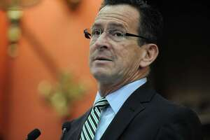 Gov. Dannel P. Malloy, who plans to veto a GOP budget that was narrowly approved in the House and Senate last week, bashed the Republican proposal on Wednesday.
