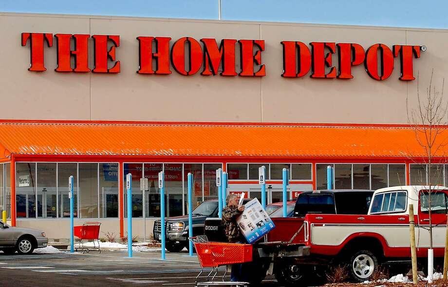 Home Depot Photo: JON EBELT / AP / AP
