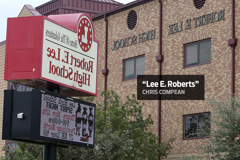 San Antonians Suggest New Names For Robert E Lee High