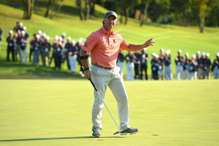 Scott McCarron, who went to high school in Napa, is No. 2 on the PGA Tour Champions' money list heading into this weekend's tournament at Pebble Beach. Photo: Masterpress, Getty Images