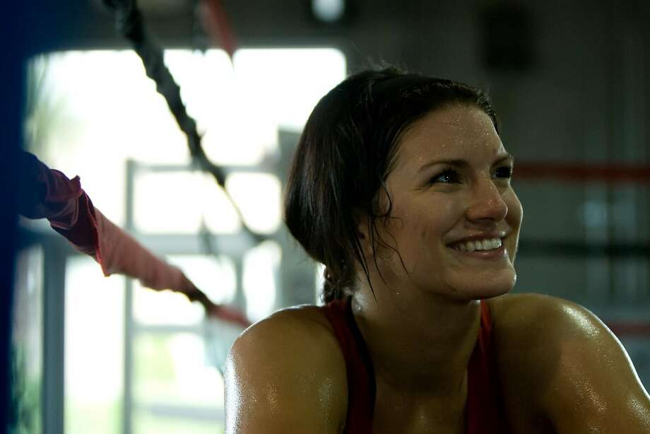 Gina Carano smiles after a training session in 2009 in Las Vegas. Photo: Esther Lin, AP