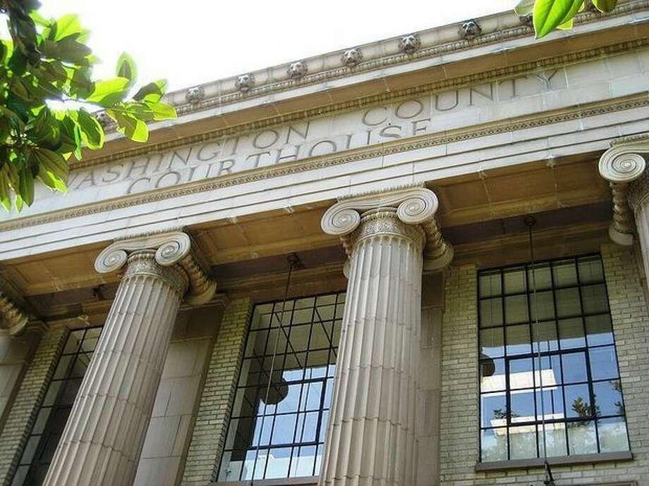 Washington County Circuit Court in downtown Hillsboro, Ore. Photo: The Oregonian/File