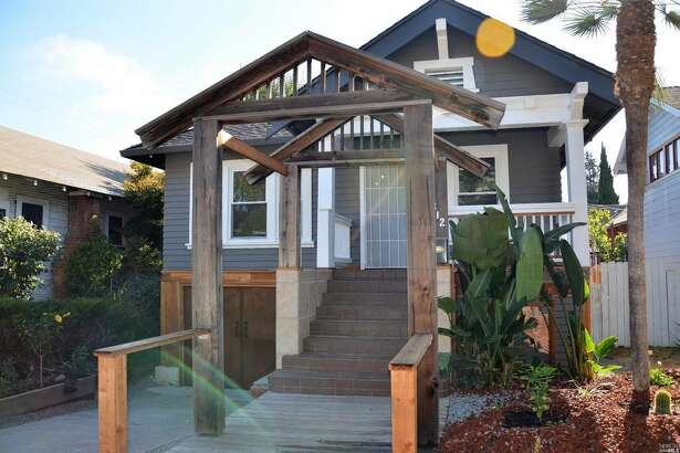 This newly renovated bungalow with Craftsman style in Vallejo is on the market for $368,000.