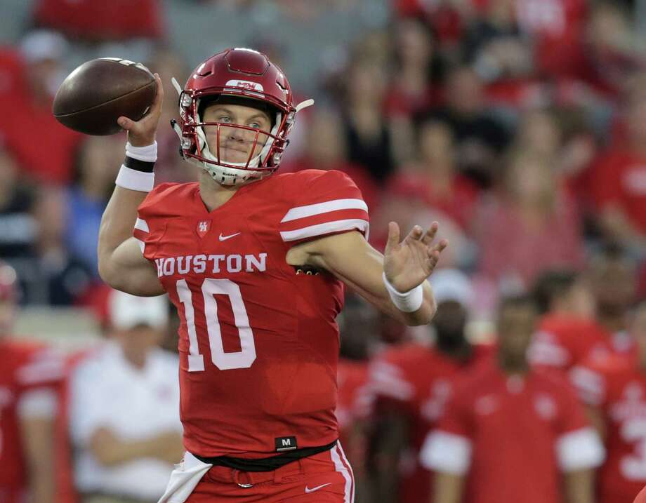 Kyle Allen began last season as UH's starting quarterback, but he was benched in a loss to Texas Tech and only play briefly the remainder of the year. Photo: Elizabeth Conley, Staff / © 2017 Houston Chronicle