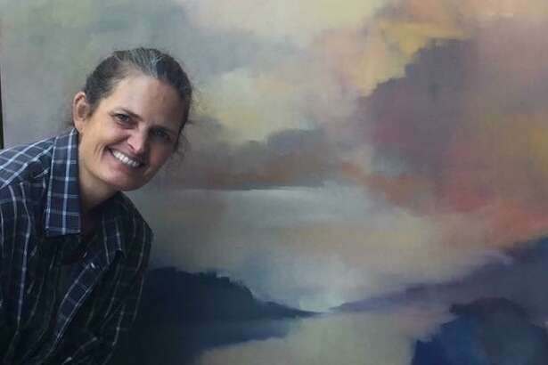 Erin Gafill, a lifelong resident of Big Sur, uses a secret Facebook group to teach art to her students.