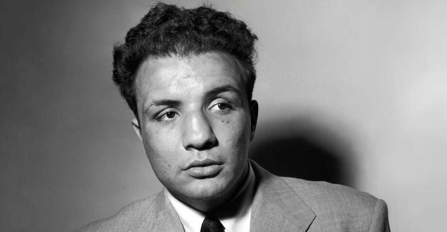 A portrait dated May 1949 of US boxer Jake LaMotta. AFP PHOTO / AFP PHOTO / ACME / INTERCONTINENTALE / -        (Photo credit should read -/AFP/Getty Images) Photo: -/AFP/Getty Images