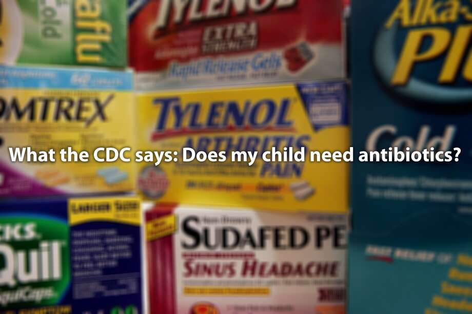 What the CDC says about treating common illnesses
