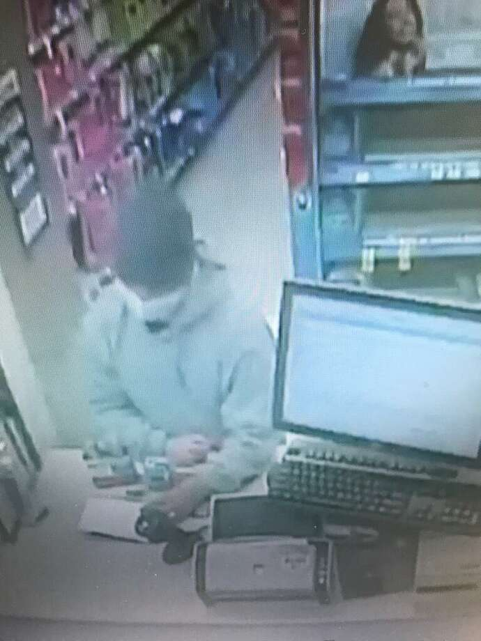 Danville Police are searching for a masked armed robber who took prescription drugs from the Walgreens in the 600 block of San Ramon Valley Boulevard.