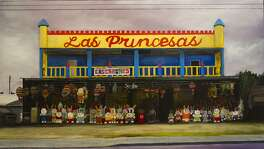 """Las Princesas,"" by Ana Fernandez depicts a West Side party favor store."