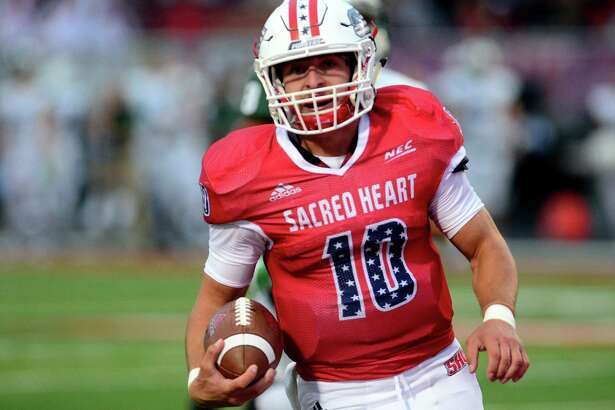 Quarterback Ken Duke and his Sacred Heart teammates are looking to rebound from a 45-7 rout at Stony Book last Saturday.