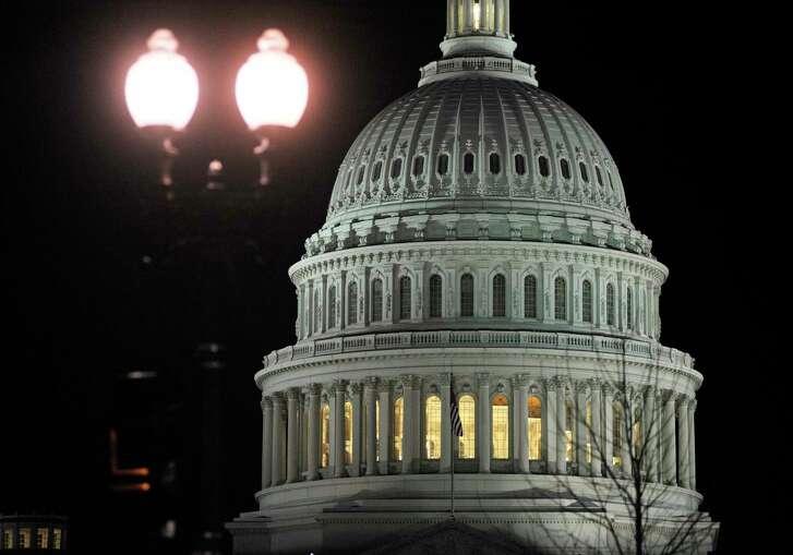 The U.S. Capitol in Washington. (Associated Press Photo)
