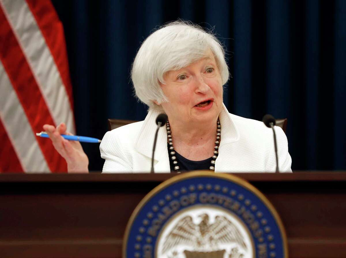 Federal Reserve Chair Janet Yellen speaks during a news conference following the Federal Open Market Committee meeting in Washington, Wednesday, Sept. 20, 2017. (AP Photo/Pablo Martinez Monsivais) ORG XMIT: DCPM109