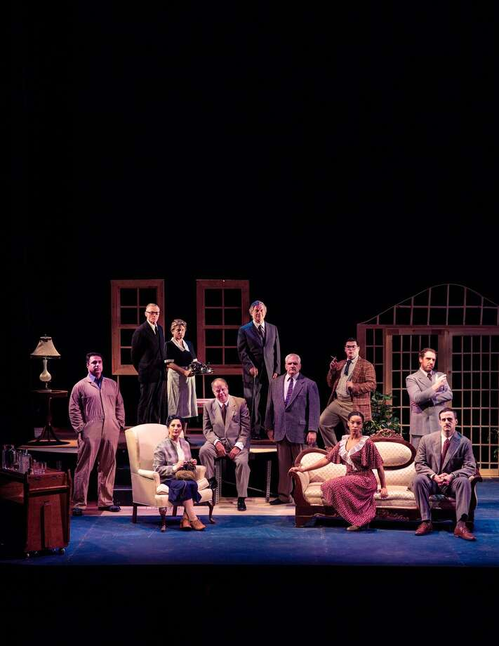 """The Warner Stage Company will present Agatha Christie's """"And Then There Were None"""" in the Warner Theatre's Nancy Marine Studio Theatre, with peformances on weekends from Saturday, Sept. 23 to Oct. 1. Photo: Contributed Photo / Contributed Photo Not For Resale"""